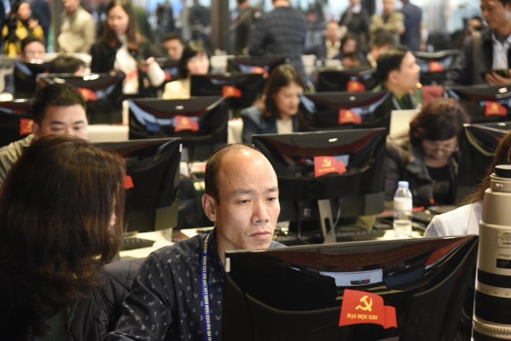 Đây cũng là phòng họp báo chính của Tiểu ban tuyên truyền Đại hội để cung cấp thông tin cho báo chí.
