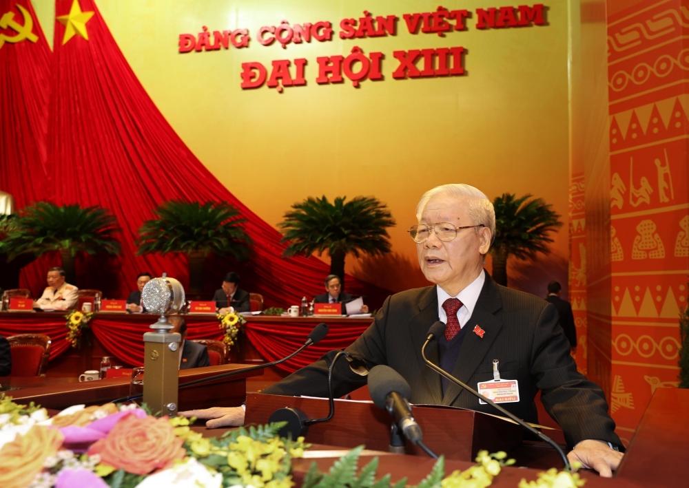Sáng nay, chính thức khai mạc Đại hội XIII của Đảng