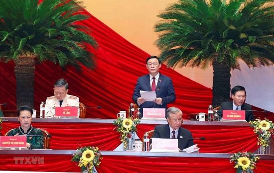 Đại hội XIII của Đảng tiếp tục thảo luận về các dự thảo Văn kiện