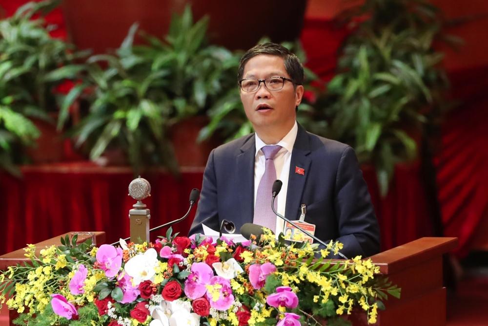 Đồng chí Trần Tuấn Anh, Ủy viên Trung ương Đảng, Bí thư Ban cán sự đảng, Bộ trưởng Bộ Công Thương trình bày tham luận
