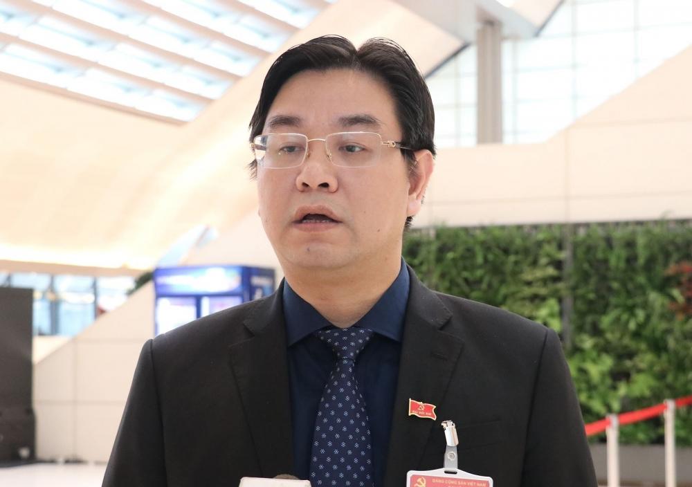 Đại biểu Nguyễn Văn Thắng, Bí thư Huyện ủy Chương Mỹ (Đoàn Hà Nội)