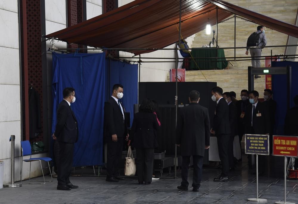 Phóng viên tham dự Đại hội XIII của Đảng: Được xét nghiệm Covid-19 lần 3