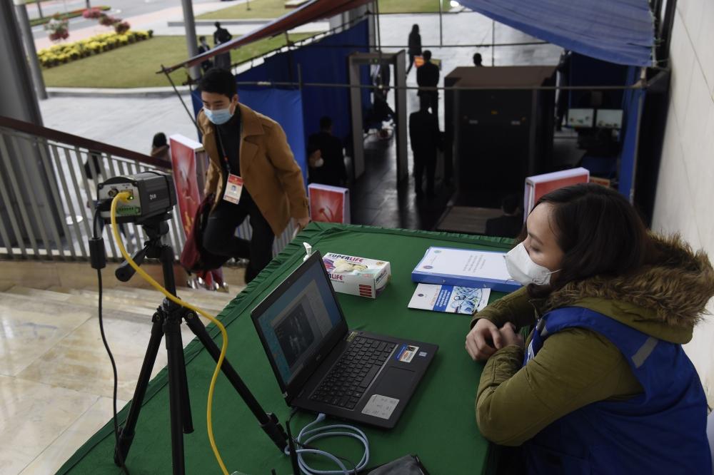 Hệ thống camera đo thân nhiệt tự động để kịp thời cảnh báo các trường hợp bị sốt