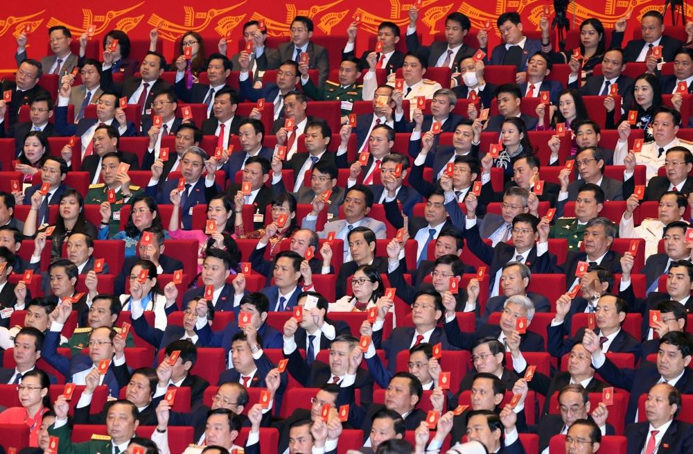Hôm nay, Đại hội XIII của Đảng tiếp tục bàn về công tác nhân sự