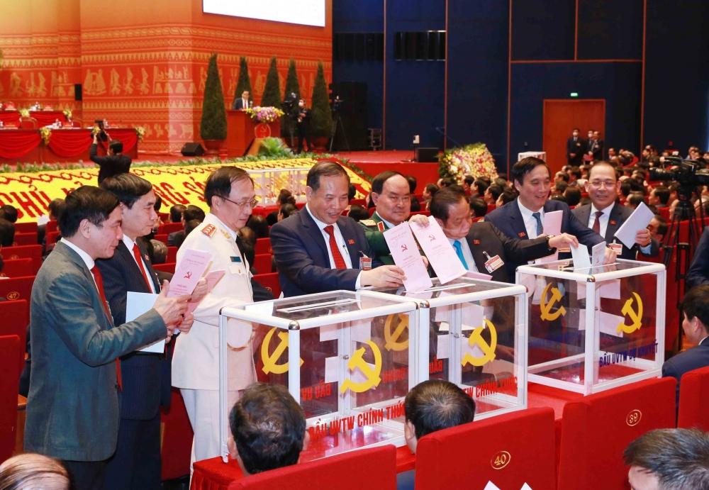 Đang kiểm phiếu bầu Ban Chấp hành Trung ương Đảng khoá XIII