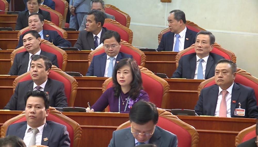 Trong 200 ủy viên Trung ương khóa mới, có 19 người là nữ.