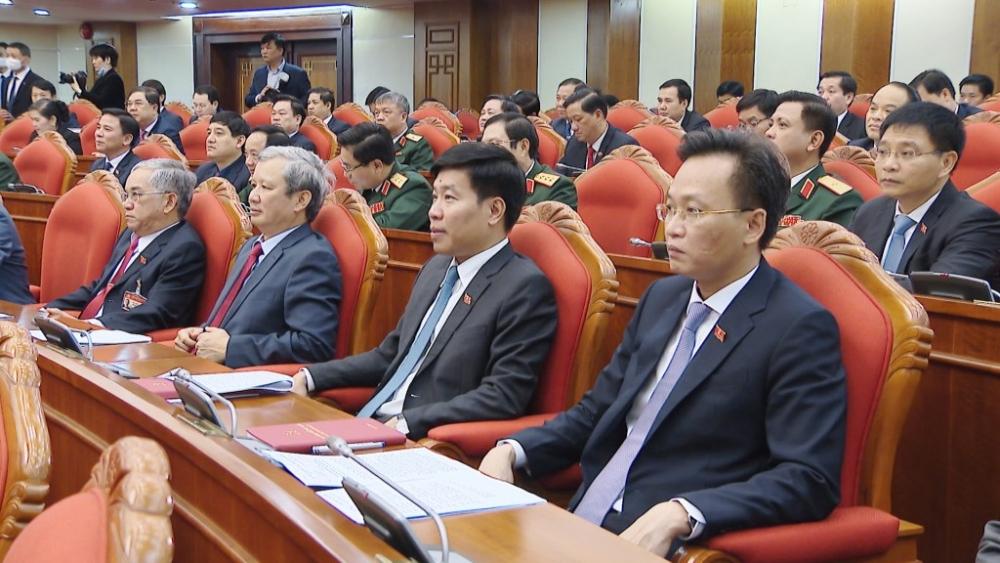 Ban Chấp hành Trung ương Đảng khóa XIII họp bầu Bộ Chính trị, Tổng bí thư