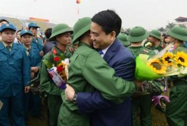 Hà Nội nô nức ngày hội tòng quân năm 2017