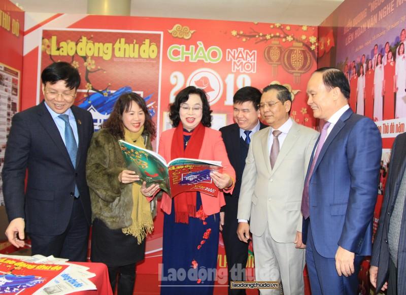 Khai mạc Hội báo Xuân Mậu Tuất Hà Nội 2018