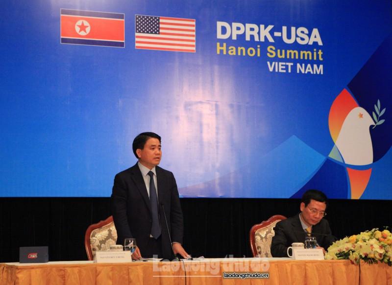 Tất cả người dân Hà Nội đều bảo vệ lãnh đạo Mỹ - Triều
