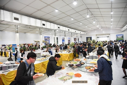 Bữa ăn của phóng viên tác nghiệp tại Hội nghị thượng đỉnh Mỹ-Triều