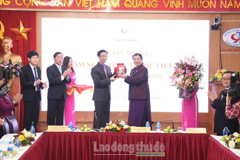 Bệnh viện Tim Hà Nội có nhiều nỗ lực nâng cao sức khỏe nhân dân