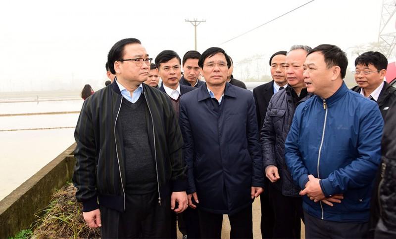 Bí thư Thành ủy Hoàng Trung Hải: Thực hiện tốt các biện pháp phòng, chống dịch bệnh