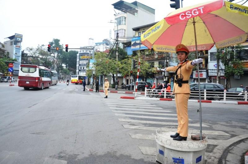Hà Nội bảo đảm an toàn giao thông trong dịp Tết Nguyên đán Canh Tý
