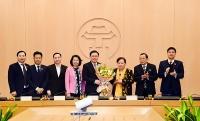 Đồng chí Vương Đình Huệ được bầu làm Trưởng đoàn đại biểu Quốc hội TP Hà Nội