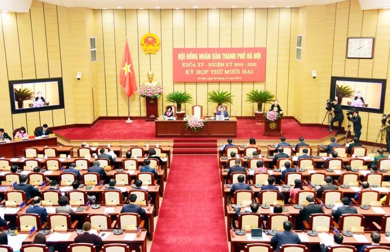 Ngày 21/2, sẽ diễn ra Kỳ họp HĐND Thành phố không thường kỳ