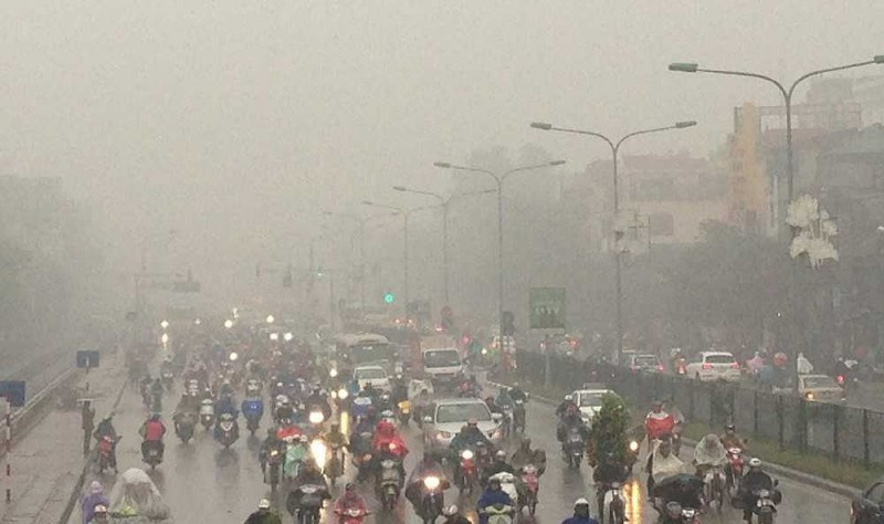 Thời tiết ngày 21/2: Bắc Bộ có mưa phùn và rét, nồm ẩm quay trở lại
