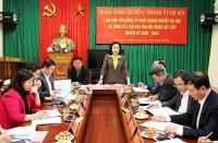 Bảo đảm tổ chức đại hội cấp cơ sở theo đúng tiến độ