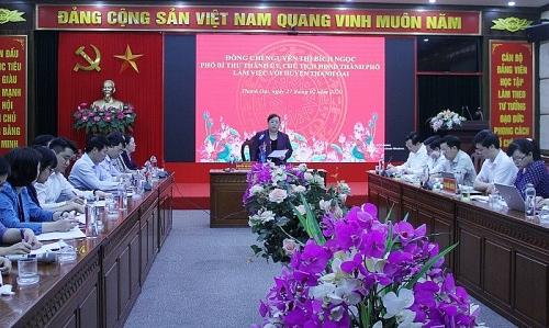 Huyện Thanh Oai cần tập trung chỉ đạo giải quyết các điểm nóng, phức tạp