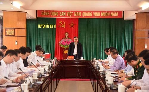 Phó Bí thư Thành ủy Đào Đức Toàn: Xử lý triệt để vụ việc tồn đọng ở huyện Ba Vì