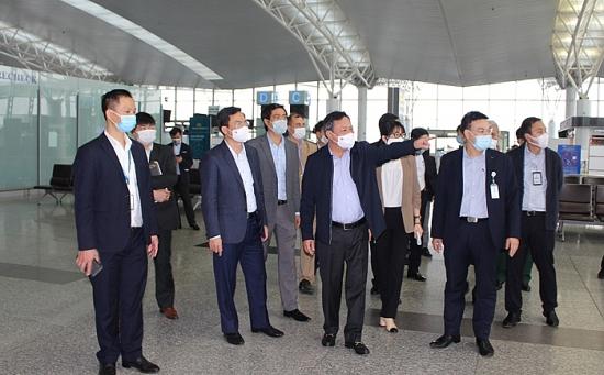 Thực hiện nghiêm việc phòng, chống Covid-19 tại Cảng hàng không quốc tế Nội Bài