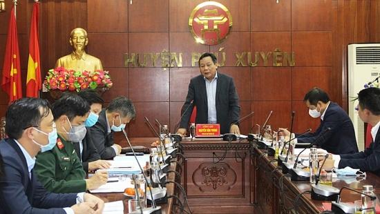 Huyện Phú Xuyên: Khoảng 10% người dân chưa tuân thủ việc đeo khẩu trang
