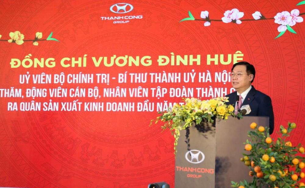Bí thư Thành ủy Vương Đình Huệ: Tháo gỡ khó khăn cho doanh nghiệp nhanh và ngay