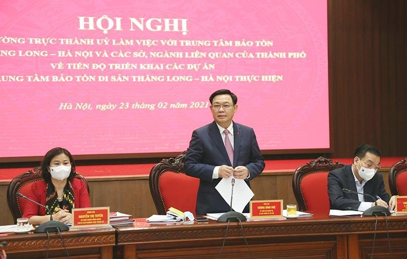 Hoàng thành Thăng Long phải trở thành công viên di sản đẹp nhất Hà Nội