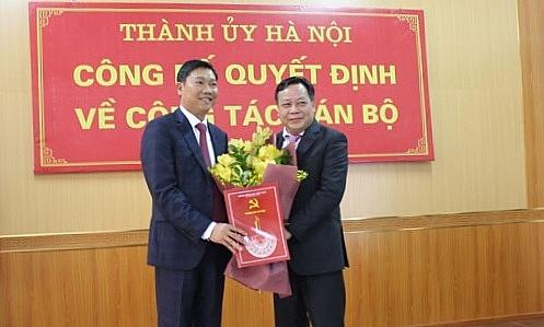 Đồng chí Đỗ Anh Tuấn làm Giám đốc Sở Kế hoạch và Đầu tư Hà Nội
