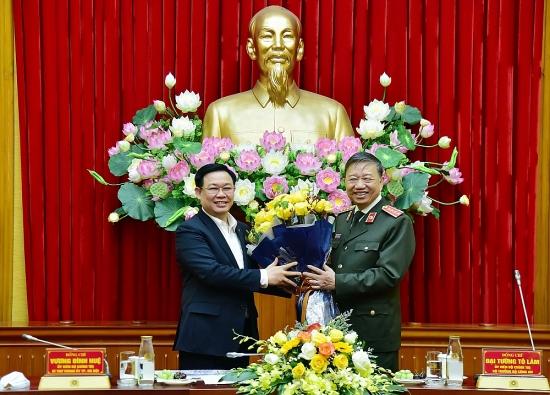 Hà Nội sẽ tích cực hỗ trợ, tạo điều kiện để Bộ Công an xây dựng trụ sở làm việc
