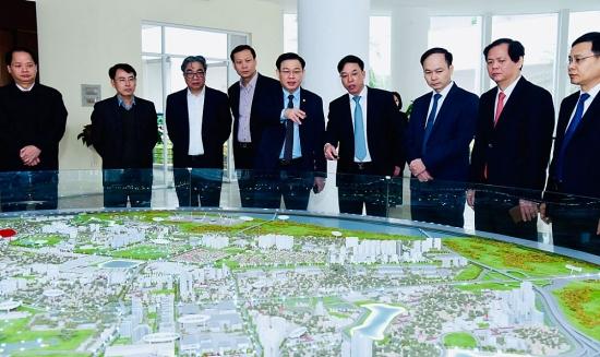 Xây dựng quận Long Biên thành trung tâm mua sắm cấp vùng