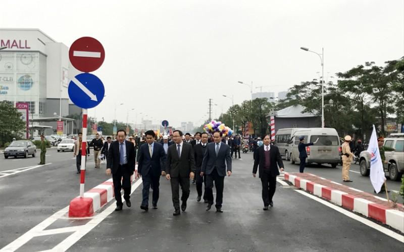 Thông xe cầu vượt trị giá 132 tỷ đồng
