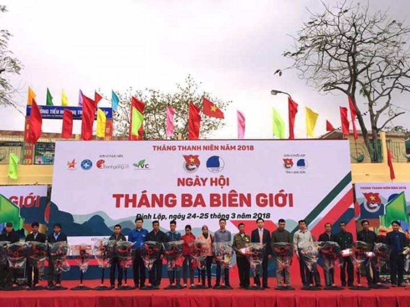 Ngày hội Tháng Ba biên giới năm 2018