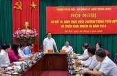 Tăng cường phối hợp công tác giữa Thành ủy Hà Nội và Hội đồng Lý luận Trung ương