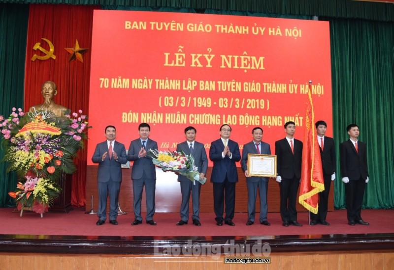 Bí thư Thành ủy Hoàng Trung Hải: Công tác tuyên giáo là một mặt trận quan trọng của Đảng