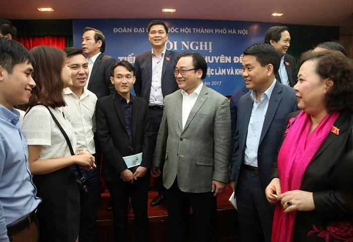 Lãnh đạo thành phố Hà Nội sẽ đối thoại với hơn 350 thanh niên tiên tiến