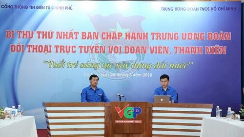 Ngày 21/3: Bí thư thứ nhất Trung ương Đoàn đối thoại trực tuyến với đoàn viên thanh niên