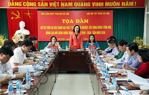 Tạo điều kiện để nữ trí thức đóng góp cho sự phát triển của Thủ đô