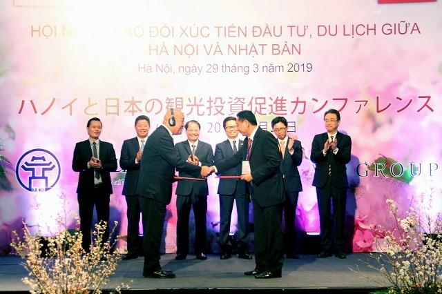 Tăng cường hợp tác xúc tiến đầu tư, du lịch giữa Hà Nội và Nhật Bản