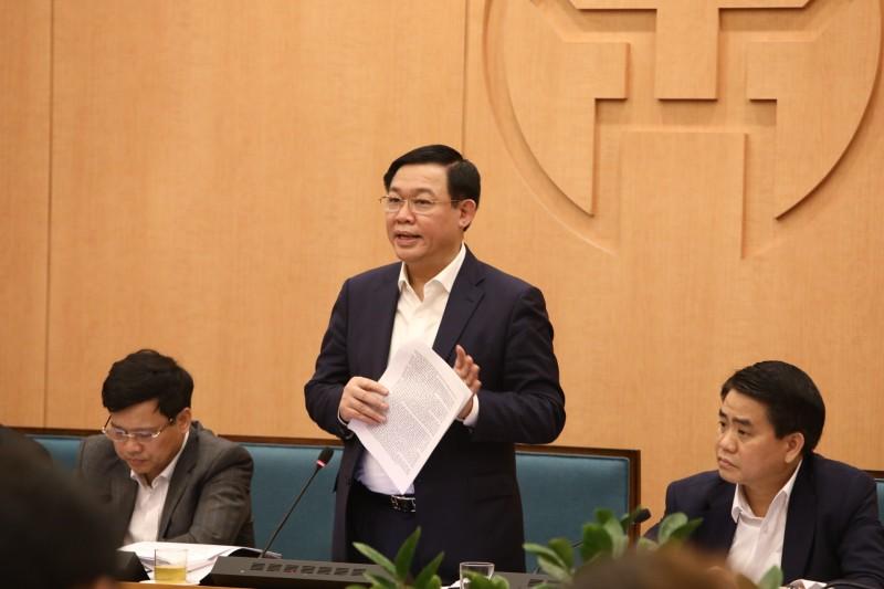 Bí thư Thành ủy Vương Đình Huệ: Phải bảo đảm Hà Nội vẫn là điểm đến an toàn