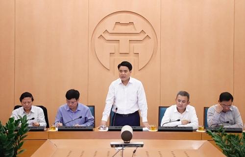 Chủ tịch UBND TP Hà Nội: Người dân cần chủ động các biện pháp bảo vệ, phòng tránh Covid-19