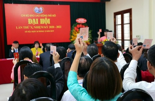 Hà Nội: Hơn 16 nghìn chi bộ đã tổ chức thành công đại hội