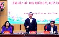 Bí thư Thành ủy Hà Nội: Quận Ba Đình phải nỗ lực xứng đáng với vị trí, vai trò đặc biệt của mình