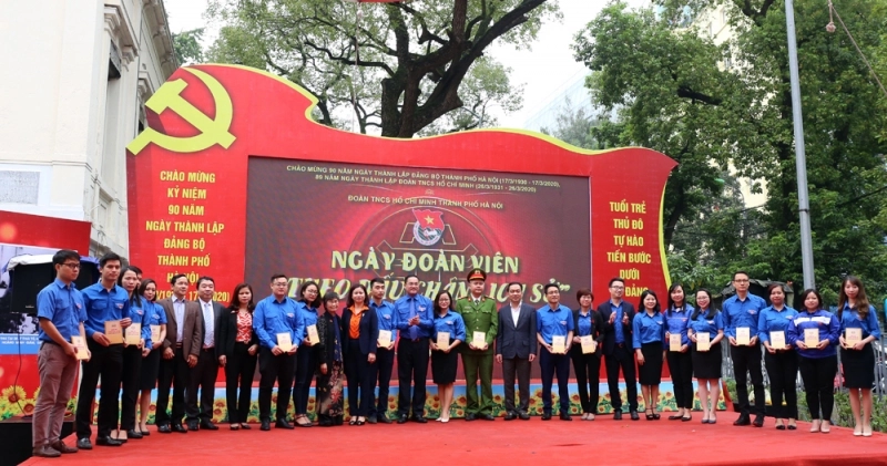 Tuổi trẻ Thủ đô tự hào về Đảng, viết tiếp bản anh hùng ca bất diệt