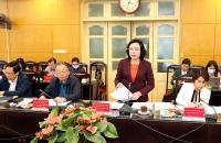 Phó Bí thư Thường trực Thành ủy Hà Nội: Phát huy vai trò của tổ dân phố trong phòng, chống dịch Covid-19