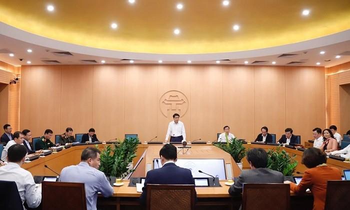 Chủ tịch UBND TP Hà Nội: Dỡ bỏ cách ly tại khu phố Trúc Bạch từ chiều 20/3