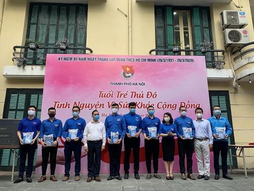 Tuổi trẻ Thủ đô tình nguyện vì sức khỏe cộng đồng