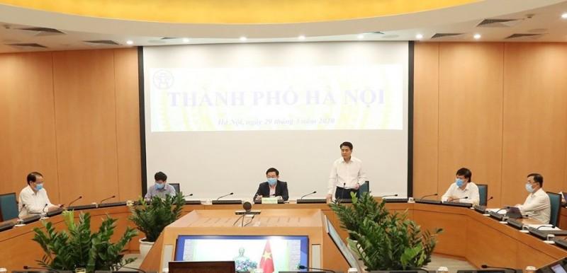 """Chủ tịch UBND TP Hà Nội: """"Ổ dịch"""" tại Bệnh viện Bạch Mai có diễn biến hết sức phức tạp"""