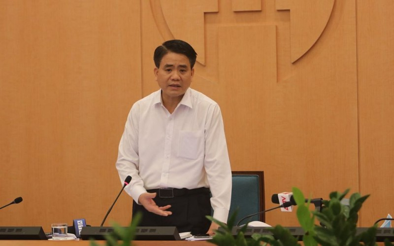 Chủ tịch Nguyễn Đức Chung đề nghị xét nghiệm lại đối với nhân viên y tế Bệnh viện Bạch Mai
