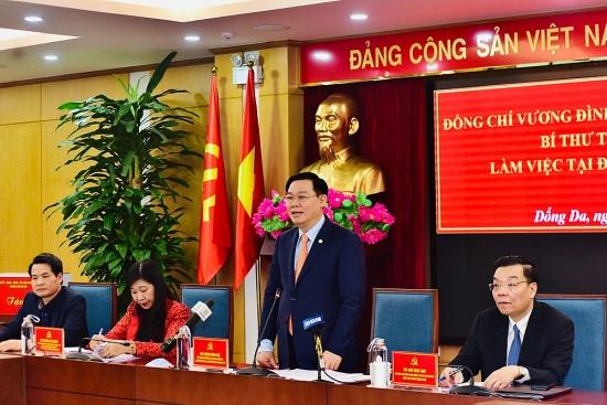 Bí thư Thành ủy Vương Đình Huệ: Phải tính đến việc sử dụng không gian ngầm và trên cao
